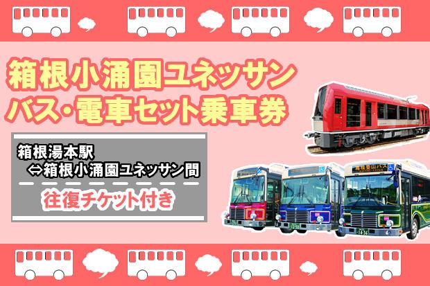 箱根小涌園ユネッサン セット乗車券