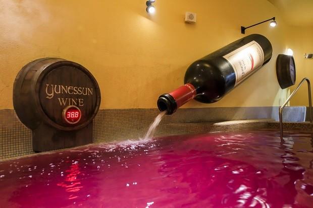 箱根小涌園ユネッサン 水着で遊ぶ温泉 ワイン風呂