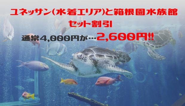 箱根園水族館セットプラン