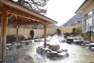 温泉の泉質はナトリウム-塩化物泉