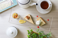 箱根小涌園 スイーツ&ベーカリー「紅茶デザートプレート」