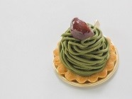 2018年「箱根小涌園 スイーツ&ベーカリー」抹茶モンブラン
