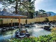 箱根小涌園 森の湯 2018年5月の季節風呂「新茶の湯」イメージ