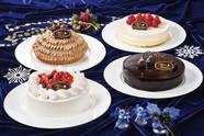 2018クリスマスケーキ集合