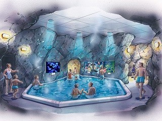 【ユネッサン】癒やしの「クラゲ観賞風呂」