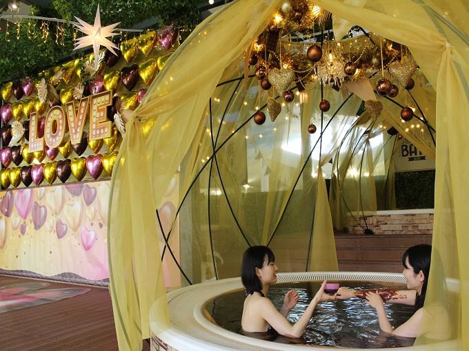 💛2021年ユネッサンチョコレート風呂💛