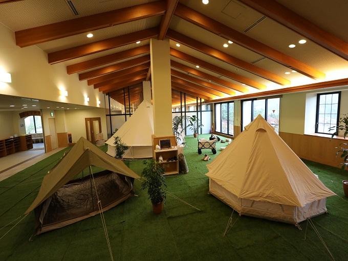【イベント】キャンプスタイルのレストエリアが誕生