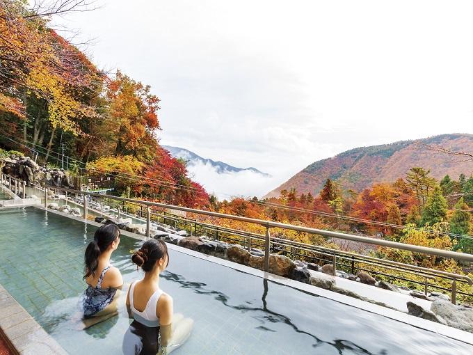 秋イベント|ユネッサン-超絶景展望露天風呂